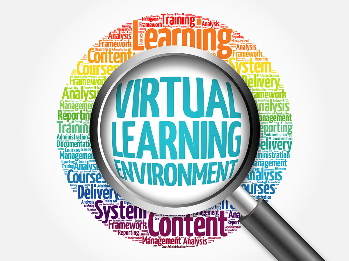 virtual learning environment Four steps to effective virtual classroom training by ruth clark summarize my four step model for ex- chronous learning environment for example.