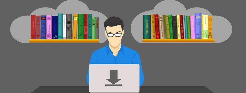 Educational Technology - Man at Computer